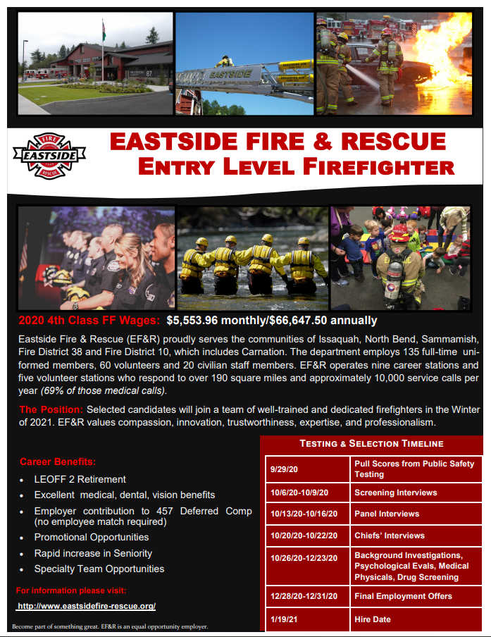 Entry Level FF - Employment Flyer